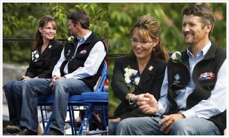 Sarah and Todd Palin, July 2009, Fairbanks