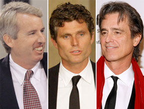 Chris Kennedy, Anthony Shriver and Bobby Shriver are other prospective Kennedy clan candidates for political office.  AP photo composite by POLITICO