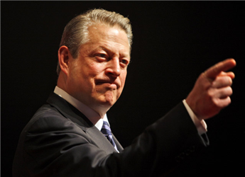 Al Gore is co-founder of an investment management firm that is now the fifth-largest shareholder in the Chicago Climate Exchange. AP