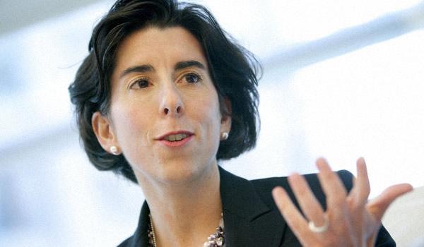 Rhode Island state treasurer Gina Raimondo