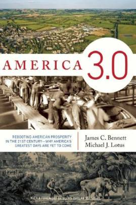 """In James Bennett and Michael Lotus' book """"America 3.0,"""" the authors describe the roots of American exceptionalism as going back to the Anglo-Saxon invaders of England after the fall of the Roman Empire."""