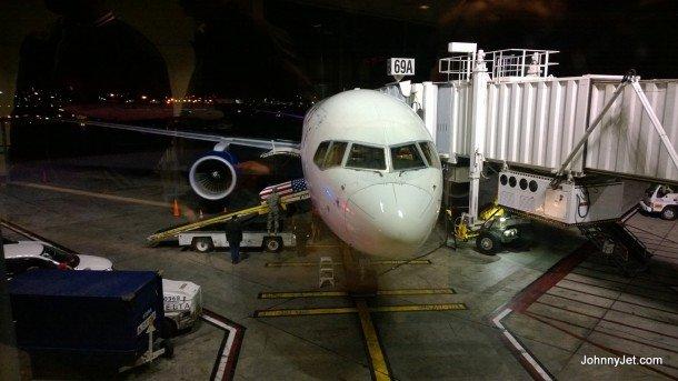 Delta Flight 2255 from Atlanta to Los Angeles. (Photo: Courtesy of Johnny Jet)