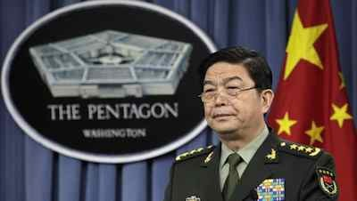 Chinese Minister of National Defense General Chang Wanquan. Department of Defense photo, public domain.