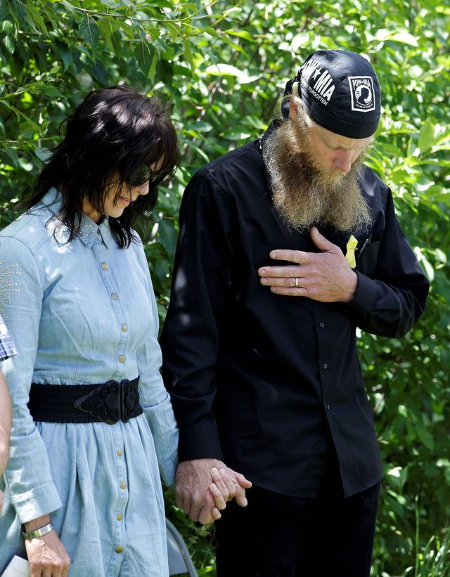 Photo by: Jae C. Hong Robert and Jani Bergdahl were hooked into multiple secure video conferences that included U.S. Central Command, White House, State Department and intelligence officials while their son, Army Sgt. Bowe Bergdahl, was being held by the Haqqani Network. (Associated Press)