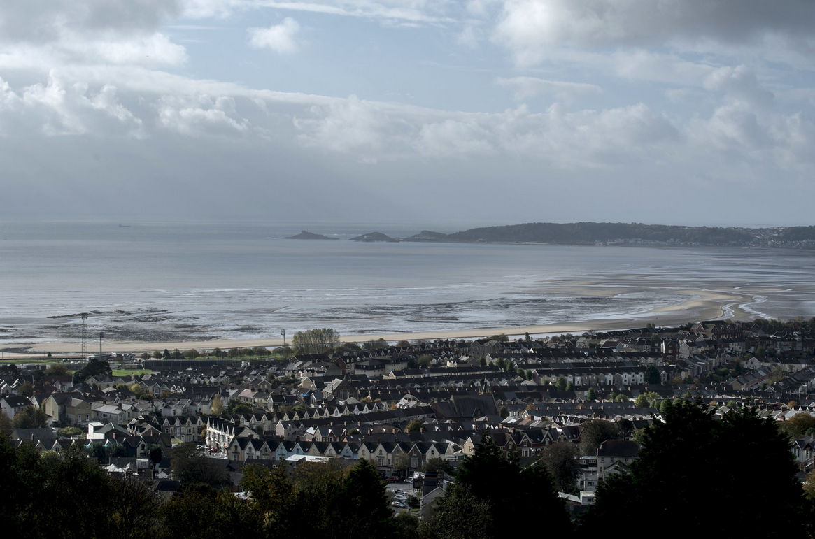 A view over Swansea and the bay from nearby the childhood home of Dylan Thomas. Andrew Testa for The New York Times