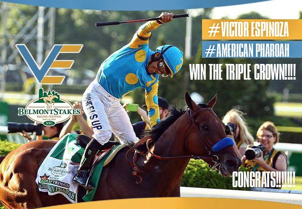 Thank You ALL My Great Friends and Fans, You Made this the Happiest Day of My Life..  ~Victor Espinoza